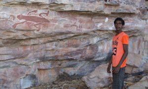 indigenous rockart in australias kimberley region