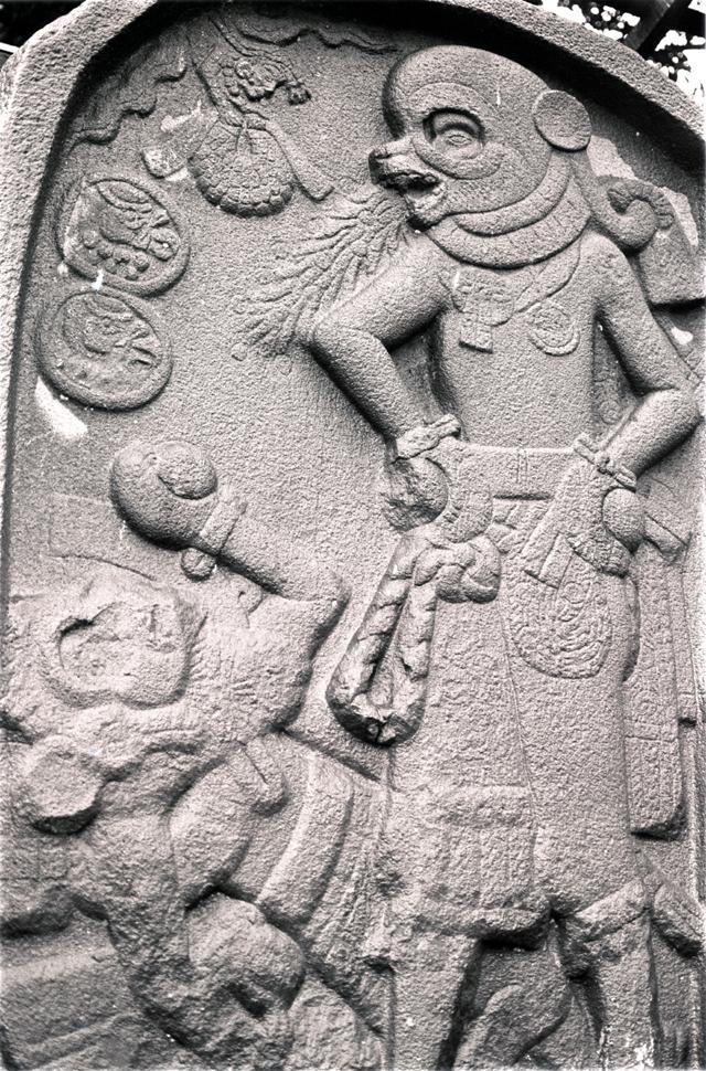 El Baul stele