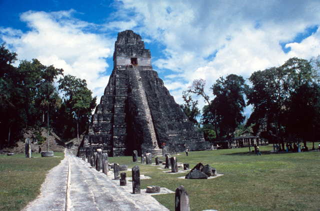 Tikal - the place where the Gods landed
