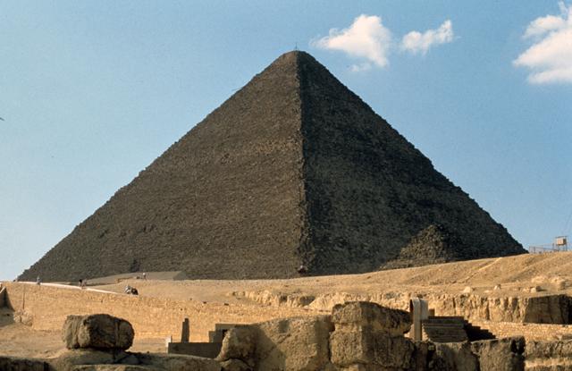 Great Pyramid on the Giza Plateau