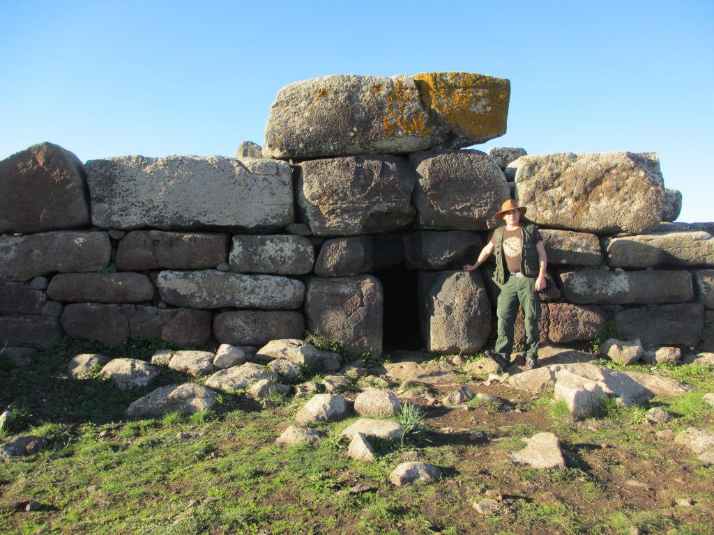 Megalithic Sardinia - Cart Ruts and Nuraghe