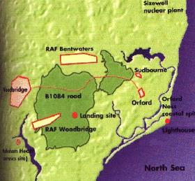 Rendlesham forest, Bentwater UFO incident